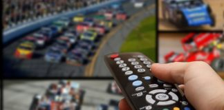 TV listings remote control