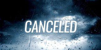 races canceled
