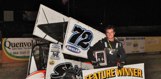 Antioch Speedway feature winner