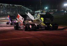 Meridian Winged Sprint Cars