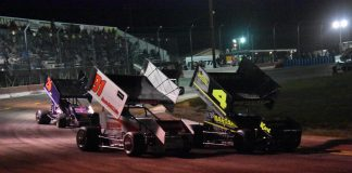 Meridian Winged Sprint Cars