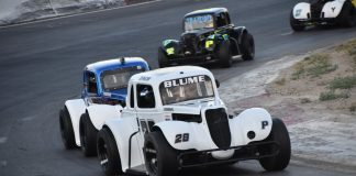 Meridian Speedway Legend cars