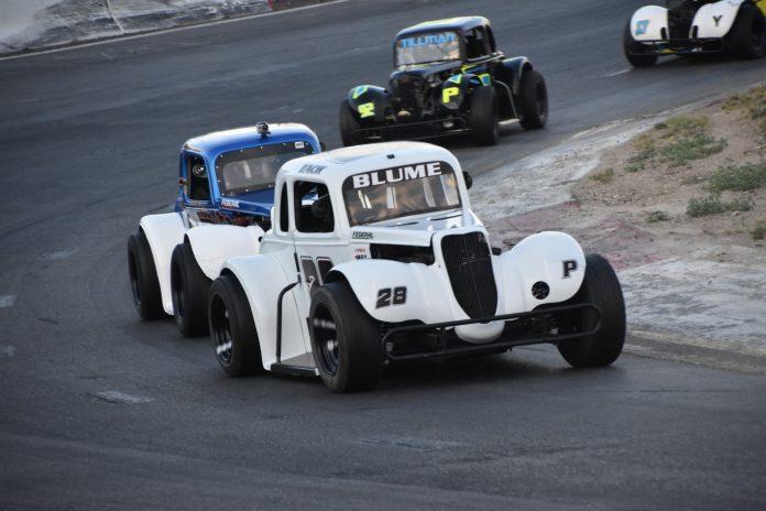Meridian Speedway Legend cars